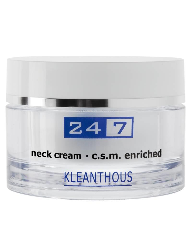 neck cream - c.s.m. enriched (50ml)