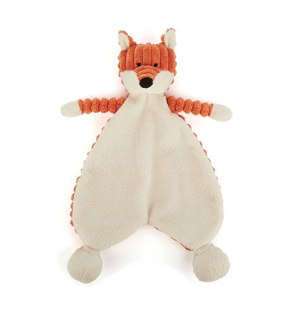 Jellycat knuffels Kuschelfuchs Schmusetuch Jellycat 23 cm H
