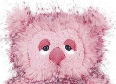 Soft toys pink