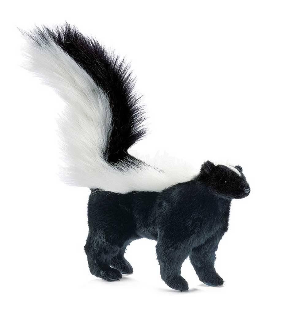 Hansa knuffels Skunk soft toy Hansa 34 cm