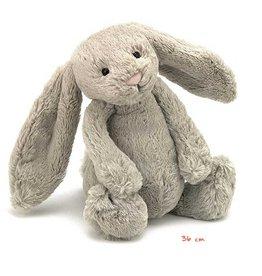 Jellycat knuffels Bashful large bunny beige Jellycat