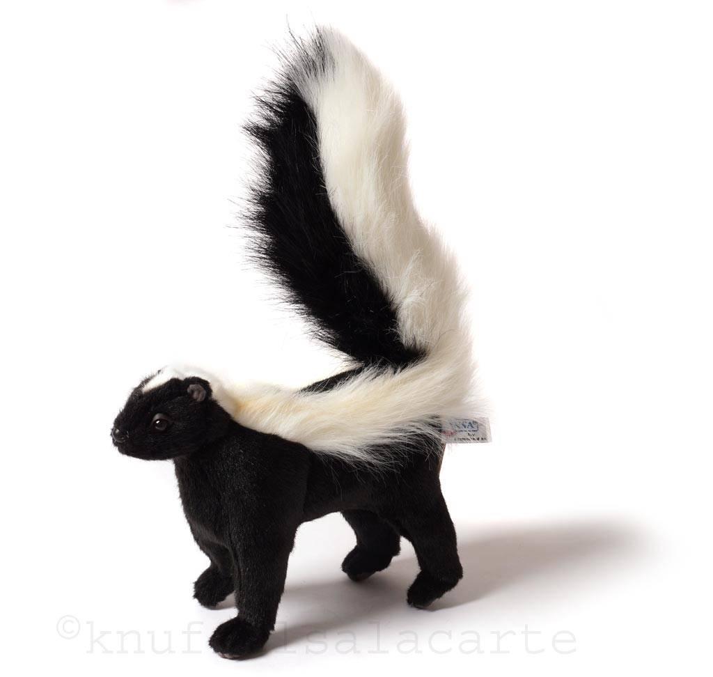 Hansa knuffels Skunk Stofftier Hansa 34 cm