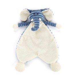 Jellycat knuffels Schmusetuch Elefant von Jellycat