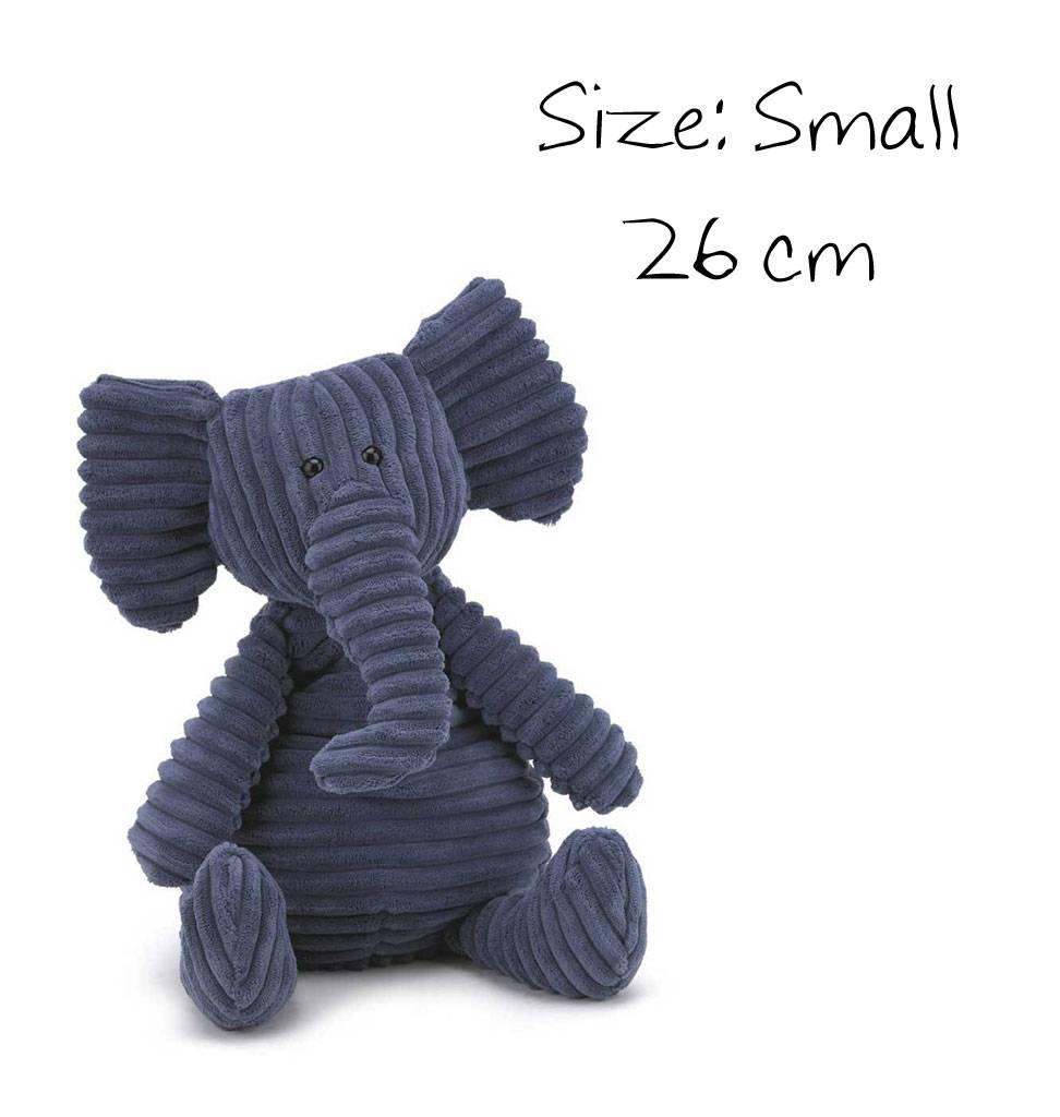Jellycat knuffels Cordy Roy olifant van Jellycat size small 26 cm