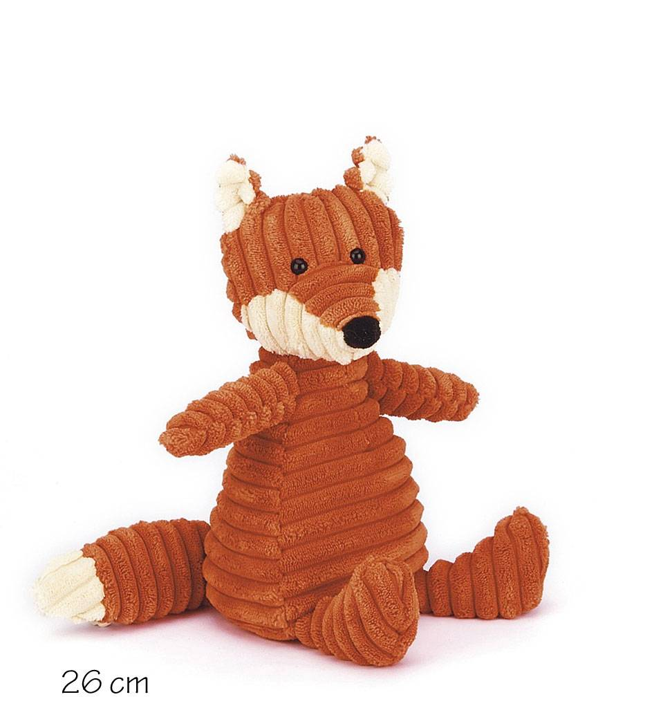 Jellycat knuffels Cordy Roy Knuffelvos Jellycat small size: 26 cm