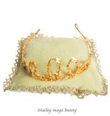 Maileg Crown on pillow for Maileg mega bunnies