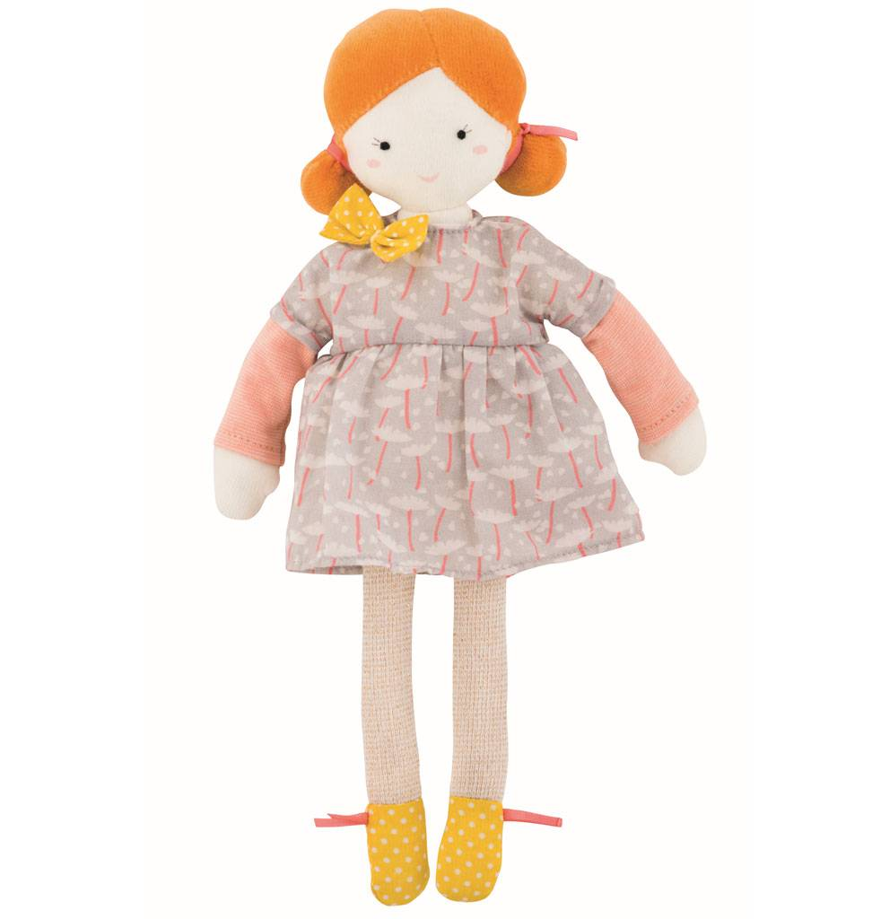 Moulin Roty Mademoiselle Blanche pop Moulin Roty 26 cm