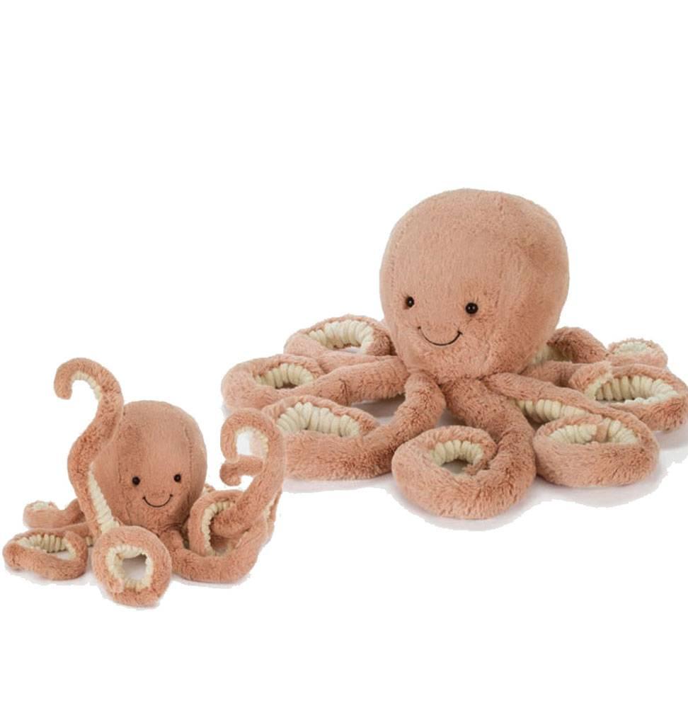 Jellycat knuffels Odell Octopus Jellycat 23 cm small
