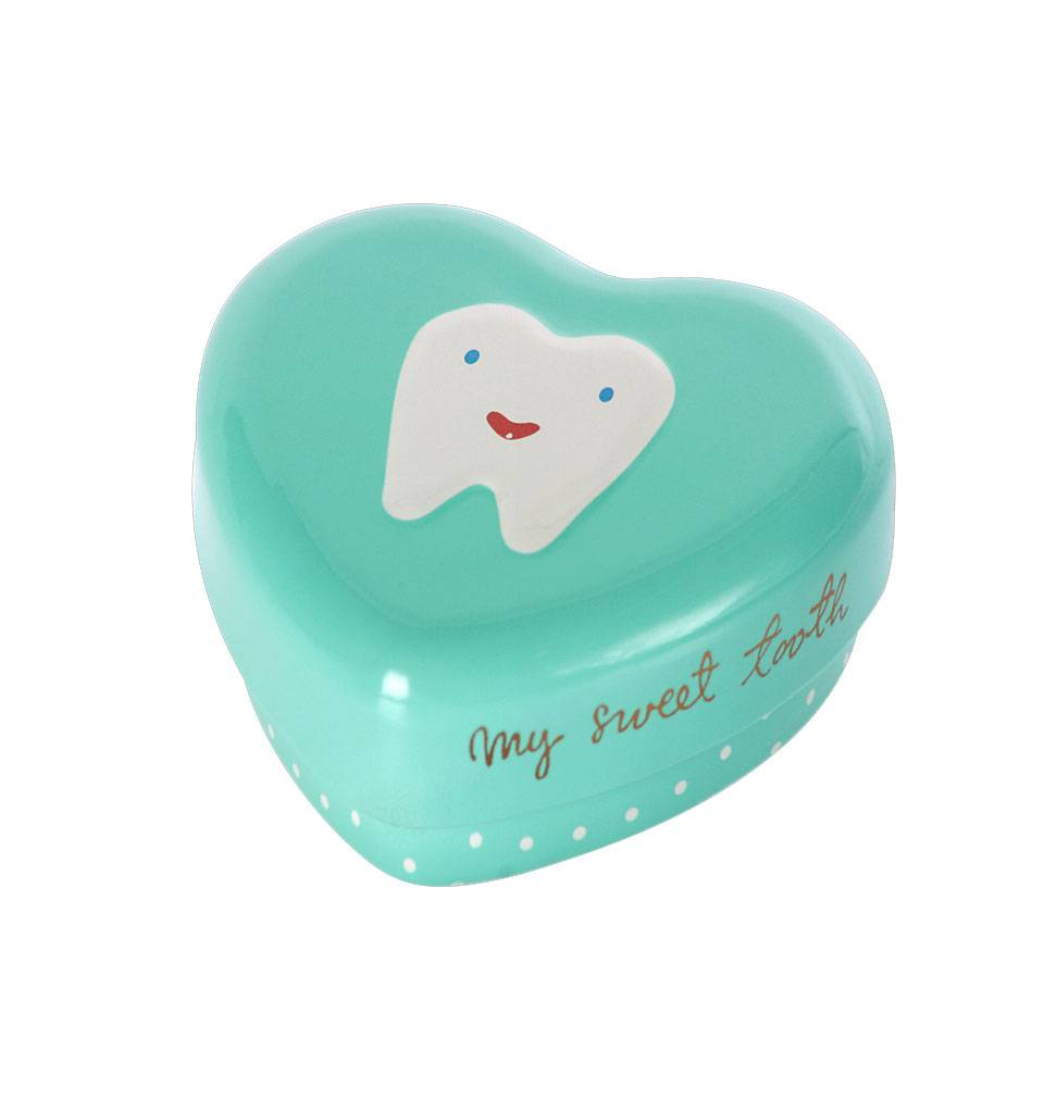 Maileg Tooth box blue green Maileg