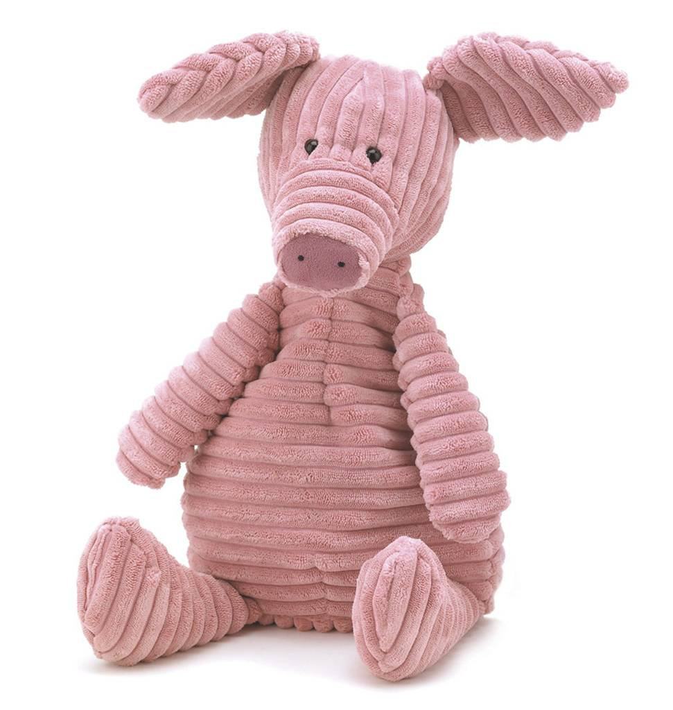 Jellycat knuffels Cordy Roy pig Jellycat small 26 cm