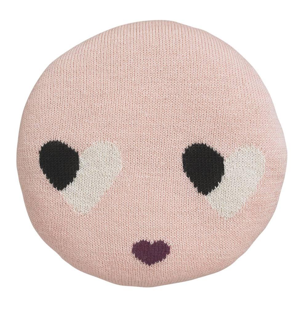 Luckyboysunday Sweatheart pillow pink Luckyboysunday