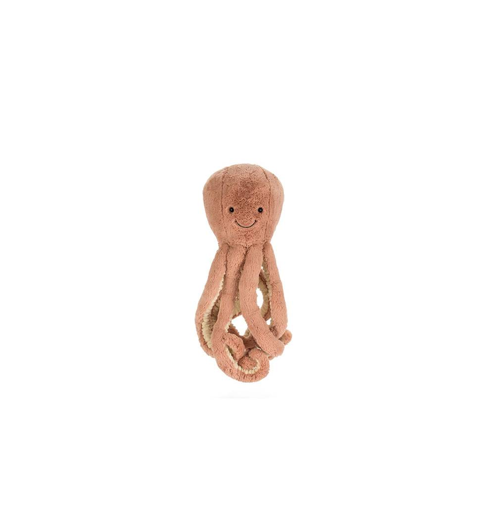 Jellycat knuffels Odell Octopus tiny Jellycat 14 cm