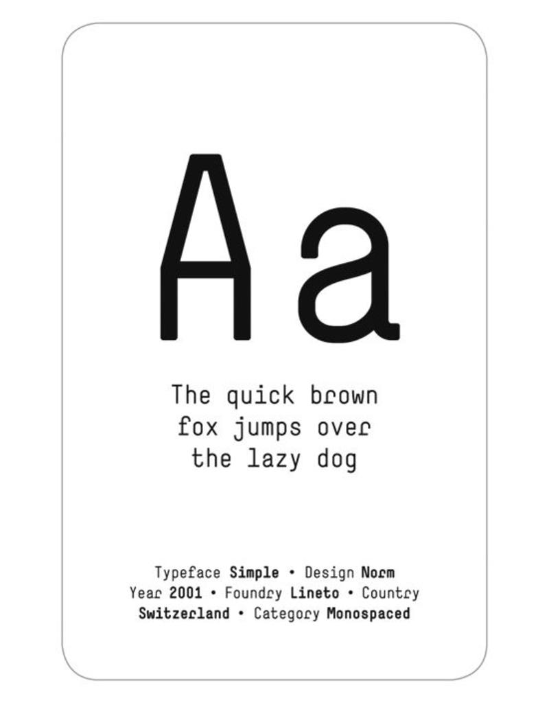 ps.2 arquitetura + design Typeface Memory Game