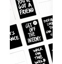 Marcus Kraft Get off the Internet Postcard Block