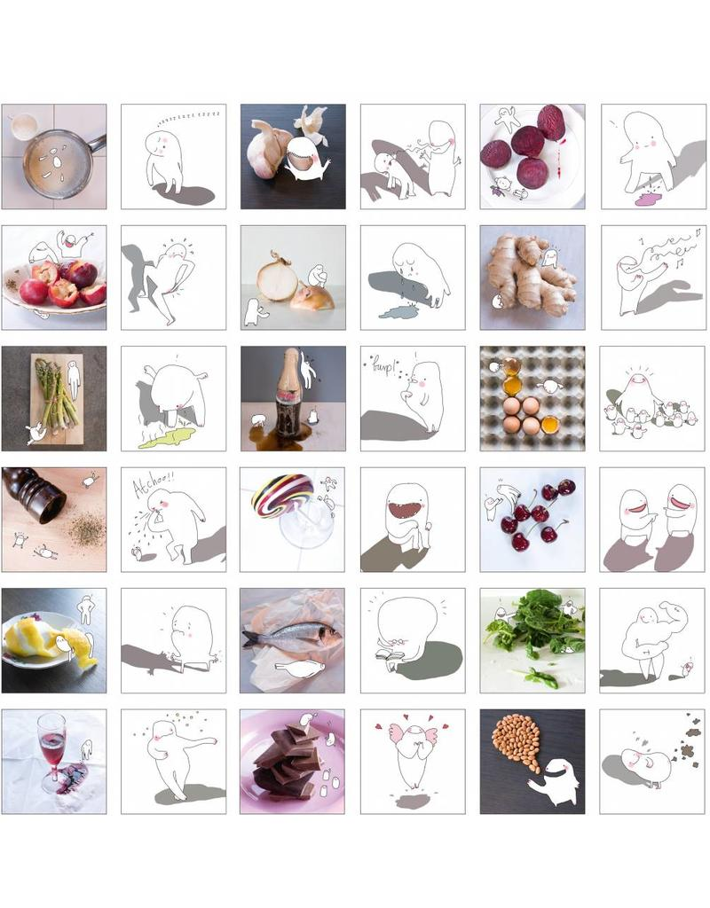 Marije Vogelzang You are what you eat Memory Game