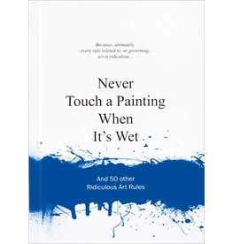 Anneloes van Gaalen Never Touch a Painting when it's wet