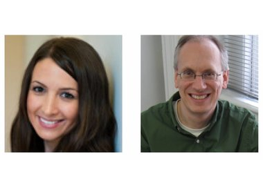 Bella Martin and Bruce Hanington