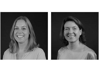 Deborah Wietzes and Beate van Dongen Crombags