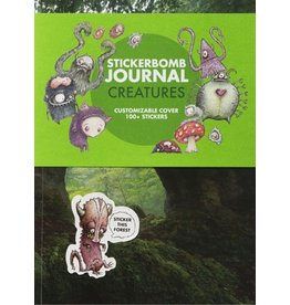 SRK Stickerbomb Journal Creatures