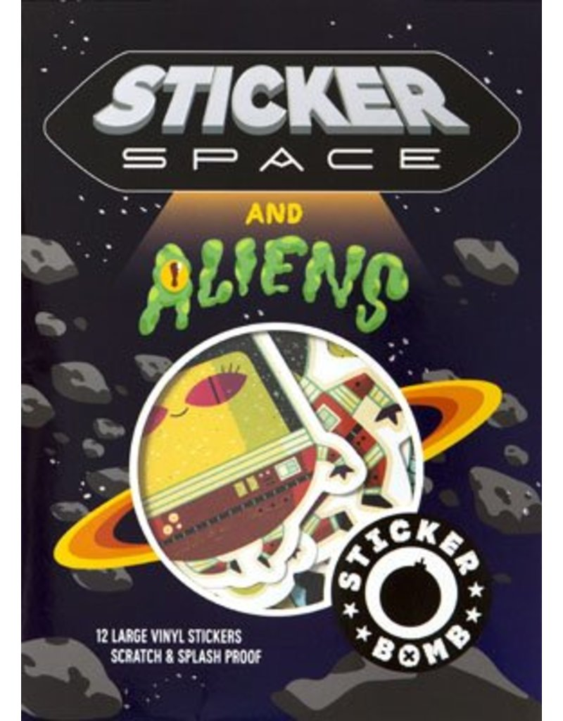 SRK Sticker Space and Aliens