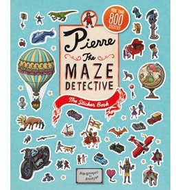 Hiro Kamigaki and IC4DESIGN Pierre the Maze Detective: The Sticker Book