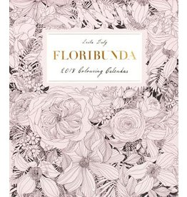 Leila Duly Floribunda 2018 Colouring Calendar