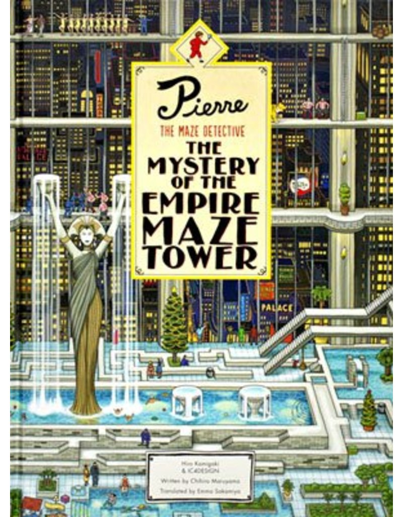 Hiro Kamigaki and IC4DESIGN Pierre The Maze Detective: The Mystery of the Empire Maze Tower