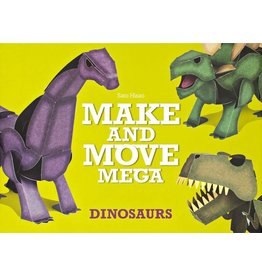Sato Hisao Make and Move Mega: Dinosaurs