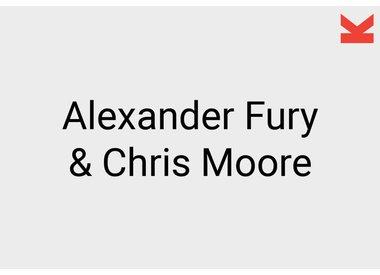 Alexander Fury and Chris Moore