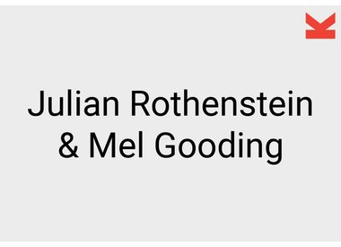 Julian Rothenstein and Mel Gooding