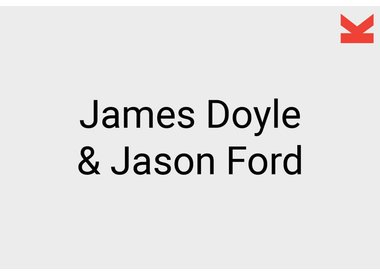 James Doyle and Jason Ford