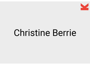 Christine Berrie