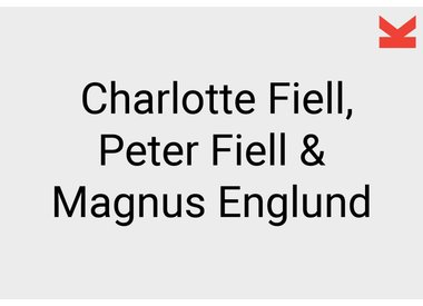 Charlotte and Peter Fiell and Magnus Englund