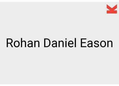 Rohan Daniel Eason