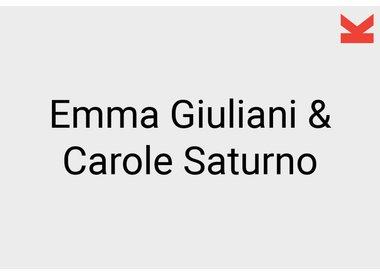 Emma Giuliani and Carole Saturno