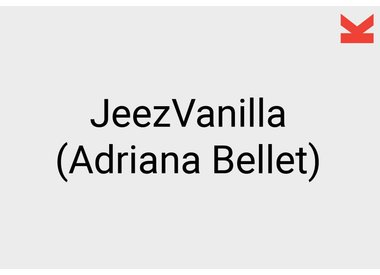 JeezVanilla (Adriana Bellet)