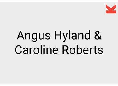 Angus Hyland and Caroline Roberts
