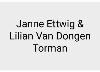 Janne Ettwig and Lilian van Dongen Torman