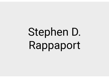 Stephen D. Rappaport