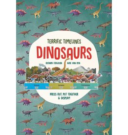 Richard Ferguson and Isabel Thomas, illustrations by Michael Kirkham Terrific Timelines: Dinosaurs
