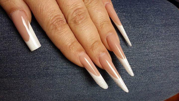 Xtreme nagel vormen Russian Almond & Gothic Almond ... Almond Nagels
