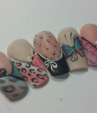 Crystal Nails Basic Gel  Deco