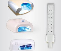 Verschil tussen de compacte LED of grote UV Lamp