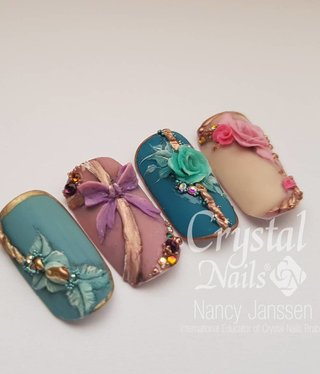 Crystal Nails Lace Gel 3d Nailart