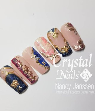 Crystal Nails Academy Sjiek la Baroque 3D