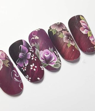 Attitude for your Nail Career & Education  One Stroke Nailart  Deel 1