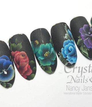 Crystal Nails One move II Nailart workshop