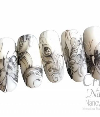 Attitude for your Nail Career & Education  Basic Lines Nailart