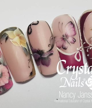 Crystal Nails Gel design niveau 2