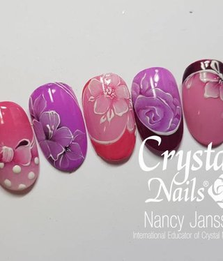 Crystal Nails Gel Designs 1